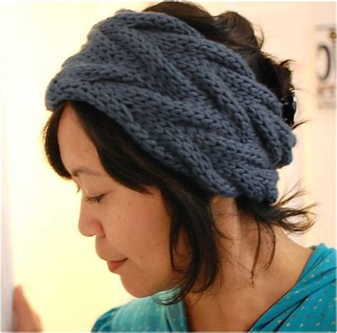 knitted headband patterns top 10 warm diy headbands free crochet and knitting