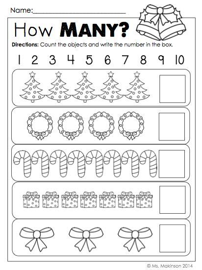 christmas activity for work 17 best ideas about number crafts on preschool number activities learning