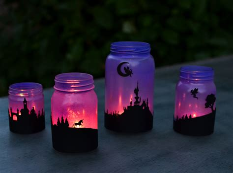 tale lanterns printable silhouettes adventure in