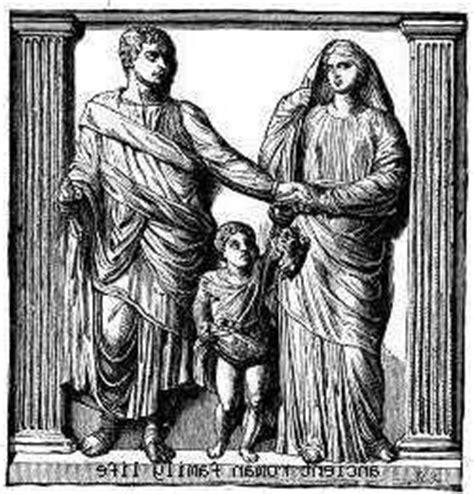 imagenes de la familia romana pedes in terra ad sidera visus la familia romana y la