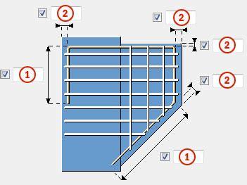 Corbel Reinforcement corbel reinforcement 81 bars tab tekla user assistance