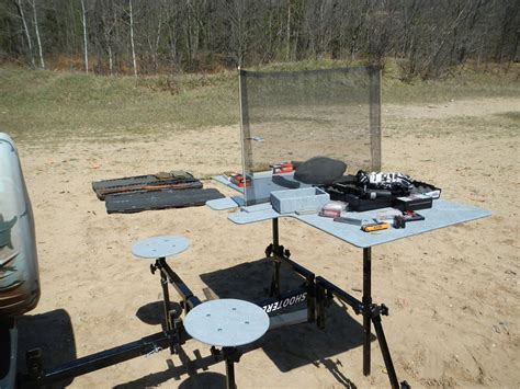 best portable shooting bench shooterest portable shooting bench outdoorhub
