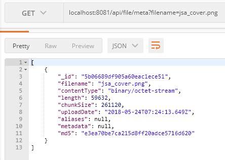 gridfs node js tutorial nodejs gridfs mongodb upload download file meta info