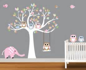 baby wall decals nursery wall decals birch trees