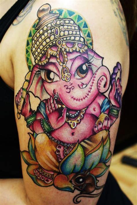 pink ganesha tattoo 29 best ganesh tattoos images on pinterest ganesh tattoo