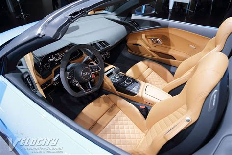 Audi R8 White With Interior by Picture Of 2017 Audi R8 Spyder