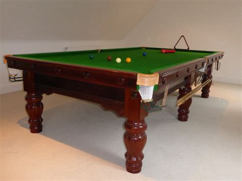 10ft karnehm hillman snooker table sold after just