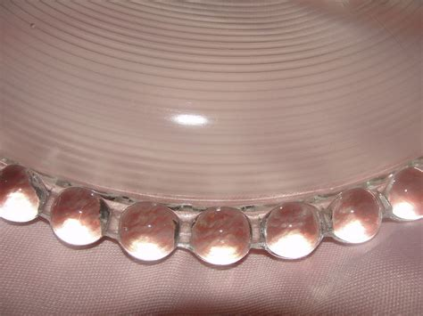 bead and ringed glass ceiling shade b128 from