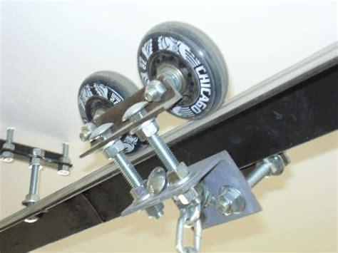 idea  hoist track  mount large stock  lathe