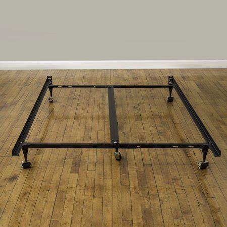 assemble metal bed frame modern sleep universal 7 quot low profile adjustable metal bed