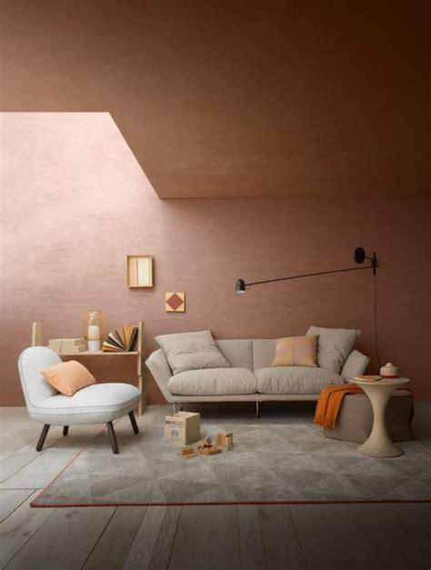Superbe Peinture De Mur Pour Chambre #3: quelle-couleur-pour-un-salon-salon-rose-poudr%C3%A9-canap%C3%A9-beige-idee-deco-mur-rose.jpg