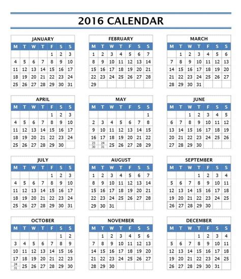 calendar 2016 only printable yearly julian calendar 2015 printable calendar template 2016