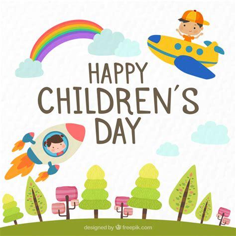 children s day card template rakete vektoren fotos und psd dateien kostenloser