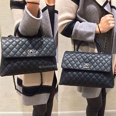 Tas Chanel Coco Handle Medium 28 best chanel bag images on bag