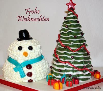 rezept weihnachtsbaum schneemann torte das s 252 223 e leben