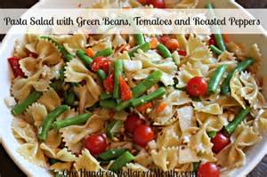 easy pasta salad recipes pasta salad with green beans