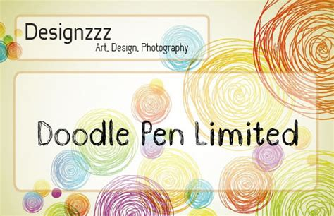 doodle pen limited font collection of scribble and doodle fonts