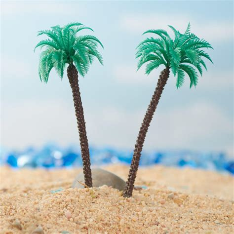 miniature artificial palm trees nursery miniatures dollhouse miniatures doll
