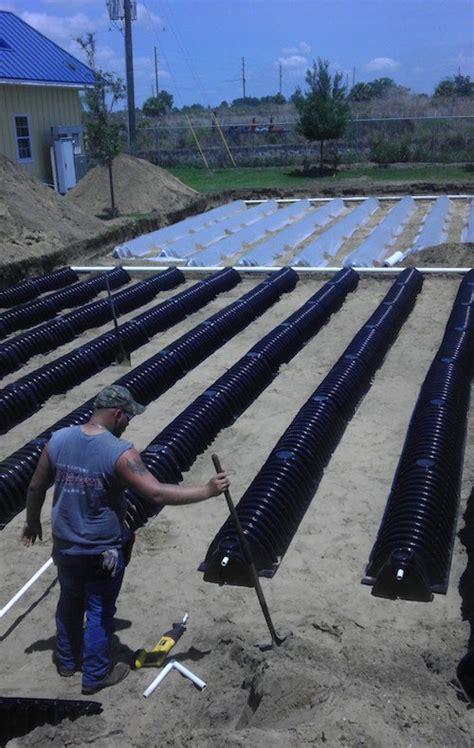 septic drain fields installation repair  advanced