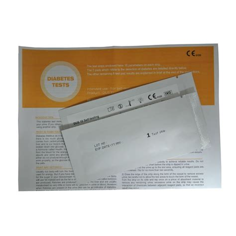 2 x diabetes glucose ketone home urine test kits