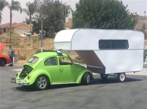 the craziest volkswagen bug rv cer combo we