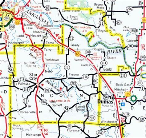 lincoln county map arkansas arkansas hotels motels