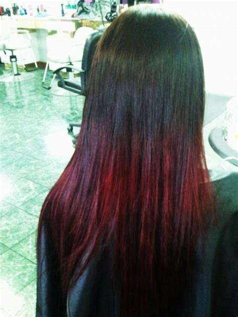 steps to doing burgundy hair with brown and caramel highlights 17 best images about burgundy ombre hair on pinterest
