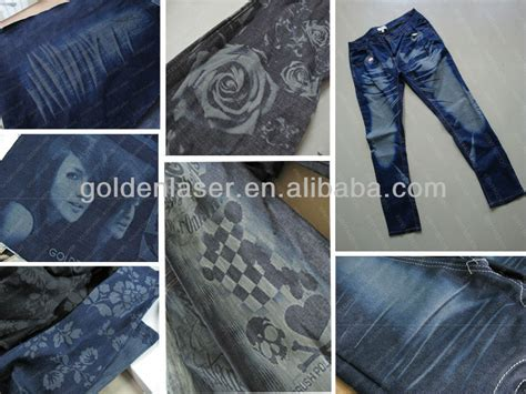 laser pattern jeans jeans laser engraving machine for denim washing laundries