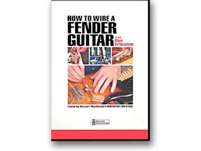 dvd how to wire a fender guitar 製作 ギターワークス