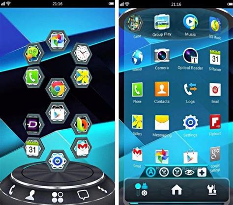 best android launchers in 2015 by dreamy tricks the great wall of hack - Launchers For Android