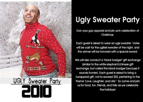 ugly christmas sweater poems 3 brave sweater invitations ideas eysachsephoto
