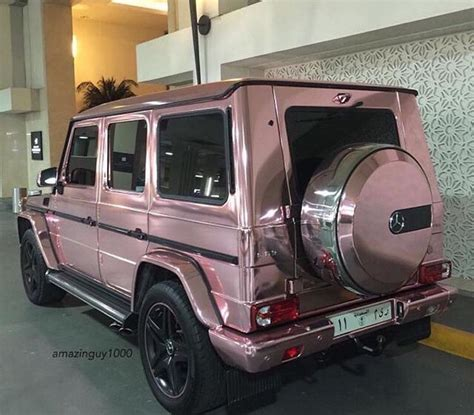 mercedes jeep rose gold rose gold mercedes g wagon cars pinterest rose gold