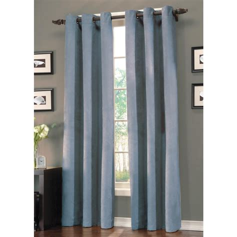 Blue Grommet Curtains Blue Curtains On Shoppinder