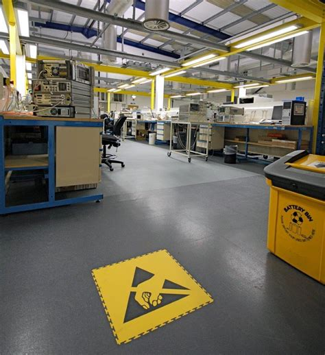 Anti static flooring: useful advice from Ecotile   Ecotile