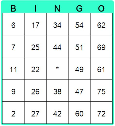 free bingo card template generator 8 best images of printable bingo card generator free