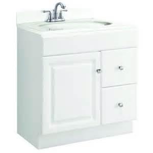 unassembled bathroom vanity cabinets design house wyndham 30 in w x 21 in d unassembled