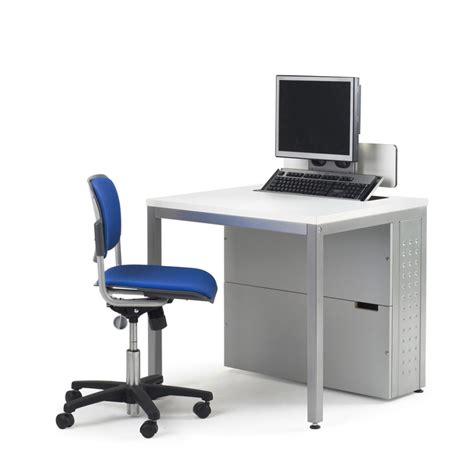 interesting small computer desks with single storage
