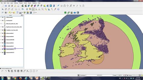 qgis dissolve tutorial quantum gis tutorial part 2 of 4 buffer and dissolve