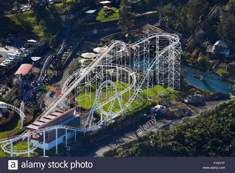 theme park new zealand roller coaster rainbow s end theme park manukau