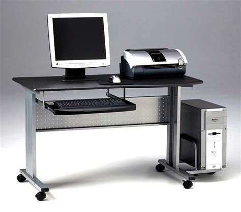 pc desk limble mobile computer desk office furniture