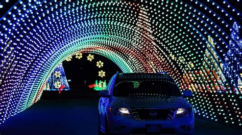 drive through christmas lights denver colorado take a reality drive through in color the light display at water