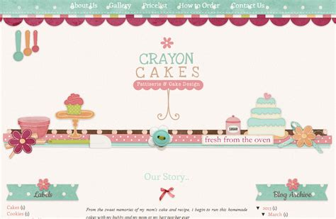 scrapbook templates for blogger crayon cakes scrapbook style blog design ipietoon cute