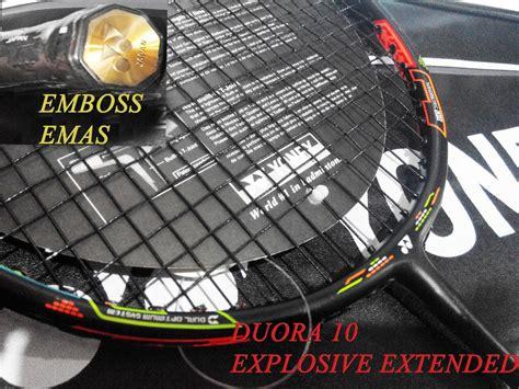 Raket Yonex Duora 10 Kw jual raket yonex duora 10 explosive extended