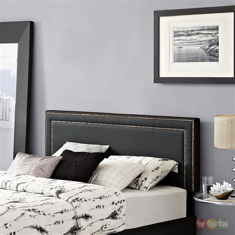 headboard vinyl jessamine queen vinyl square headboard with double