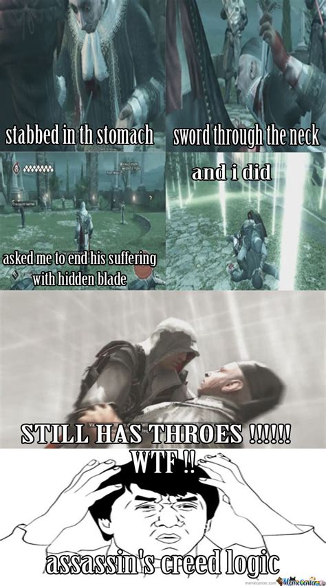 Assassins Creed 4 Memes - assassin s creed logic by ahmad shehadeh greatness