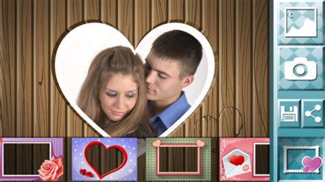 love frames app pc love pictures photo frames free android app android freeware