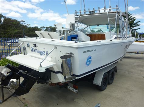fishing boat for sale melbourne bertram 25ft fishing boat jv marine melbourne