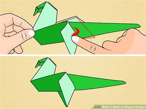 Origami Dragonfly Step By Step - how to make an origami with pictures wikihow