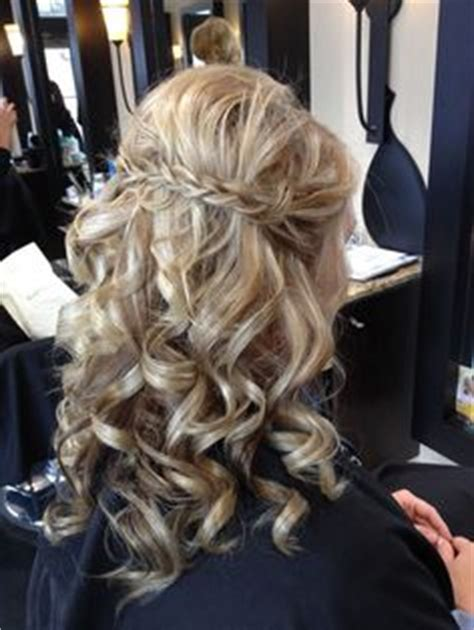 cortana search images of old hair braided up into a bun waterfall braid half up half down with curls google