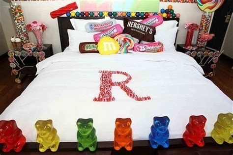 food in the bedroom ideas sweet retreat novelty hotel fun hotels
